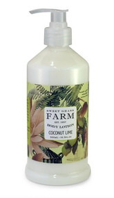 Sweet Grass Farms Coconut Lime Lotion - Meadow Collection