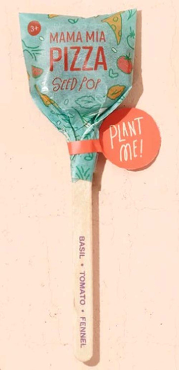 Modern Sprout Seed Lollipop - Mama Mia Pizza