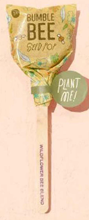 Modern Sprout Seed Lollipop - Bumble Bee Blend
