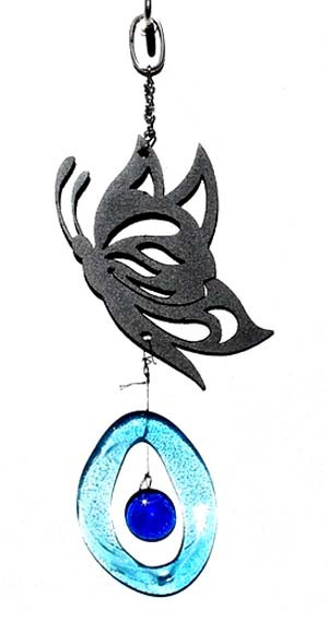 Mini Metal Chime, Butterfly