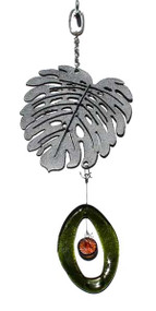 Mini Metal Chime, Leaf