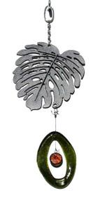 Mini Metal Chime, Leaf
