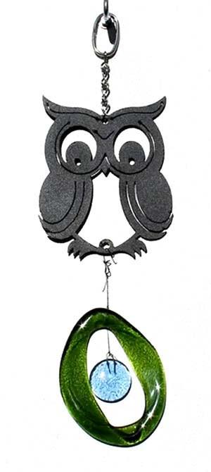 Mini Metal Chime, Owl