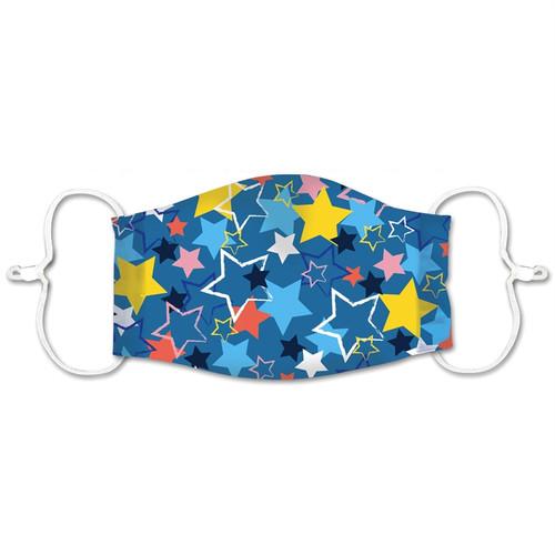 Kid's Washable Face Mask - Stars