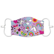 Kid's Washable Face Mask - Unicorns