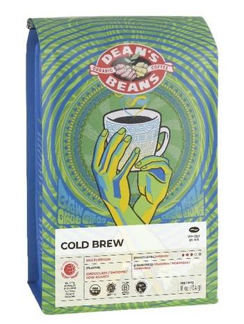Dean's Beans Cold Brew - 1lb Whole Bean