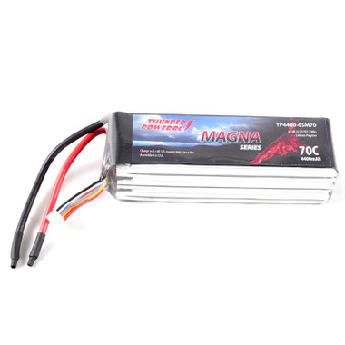 Thunder Power 4400mAh 6S 22.2V Magna Series 70C LiPo