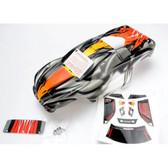 Traxxas 4411R Body Nitro Rustler with ProGraphix