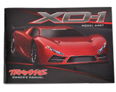 Traxxas 6499 Owner's Manual XO-1