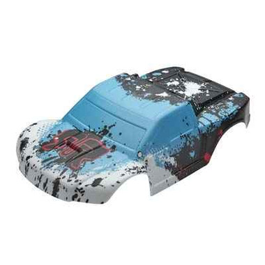 ARRMA 402084 Body Blue Painted w/Decals Fury 2014 Mega