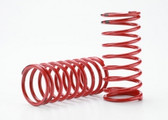 Traxxas 5941 Spring, shock (red) (GTR) (2.0 rate double black stripe) (1 pair)