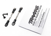 Traxxas 2444 Turnbuckles, camber link, 47mm (67mm centre to centre) (front) (assembled with rod ends and hollow balls) (1 left, 1 right)