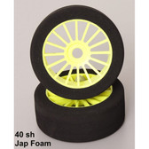 1:8 Foam tyres JAP foam 40 shore  (set of 2)