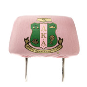 AKA Car Headrest Cover - Pink