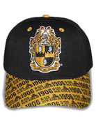 APA Blk/Gold 1906 Cap