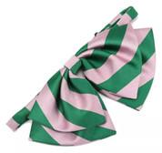 Pink & Green Bowtie