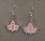 Ivy Earrings - Pink