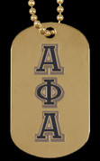 APA Doubled Sided Dog Tag