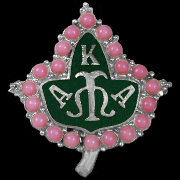AKA 20 Pearls Lapel Pin