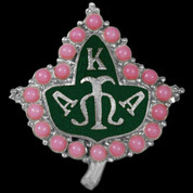 AKA 20 Pearls Lapel Pin