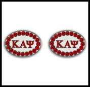 KAY Cuff Links w/Swarvoski Crystals