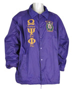 Que Purple Signature Line Jacket