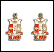 Kappa Alpha Psi Coat of Arms cuff links