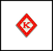 Kappa Alpha Psi Diamond K Lapel Pin
