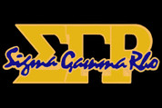 SGRho Lapel Pin - Gold