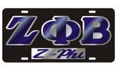 ZPB Black Z-PHI Mirrored Tag