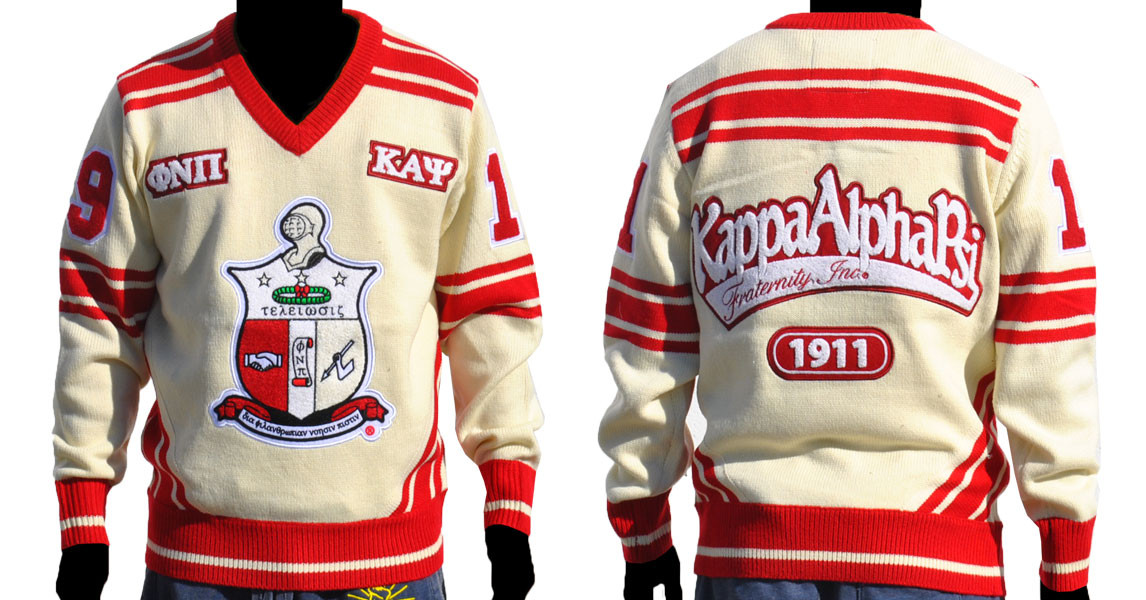 Alpha Phi Alpha V Neck Sweater