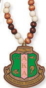 Bead Tiki with Crest