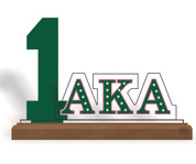 Acrylic Desktop Line Number Display -AKA