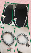 Silver Star Pearl Set - SALE