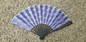 ZPB Silk and Bamboo Fan