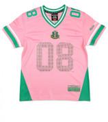 Rhinestone Jersey - New - AKA - Pink