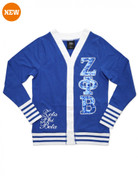 Sequin Cardigan - New - ZPB - Royal Blue