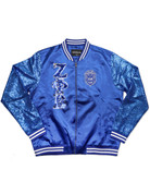 Sequin & Satin Jacket  - ZPB