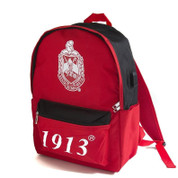 DST Backpack - Red/Blk