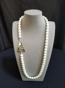 Pearls & Pyramid Necklace