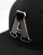 APA Snapback Cap - Metallic Emblem