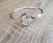 Ivy Pearls Bangle