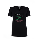 Pearls & Glitter J15 V-Neck Tee - NEW!