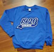 ZPB Chenille Crewneck - Royal