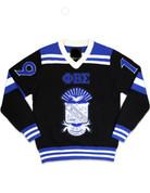 PBS V-Neck Chenille Sweater