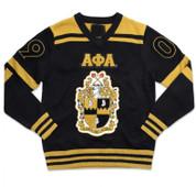 APA V-Neck Chenille Sweater