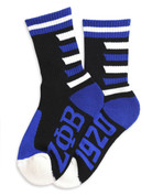 ZPB Plush Socks - BLK