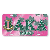 AKA Printed Crest License Plate