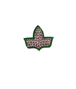 Rhinestone Ivy Lapel Pin - NEW!