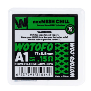 Wotofo nexMESH 10 pack